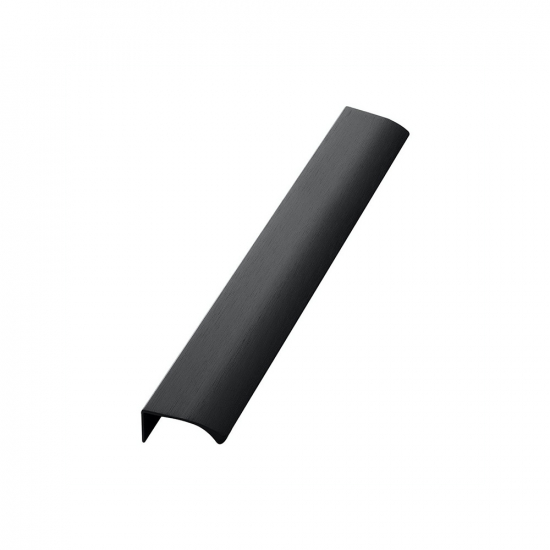 Profile Handle Edge Straight - 350mm - Brushed Black in the group Products / Kitchen Handles / Black at BeslagOnline (304157-11)