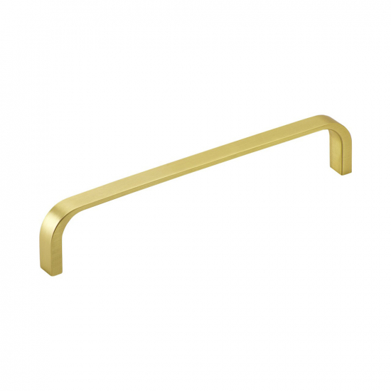 Handle Pronto - 160mm - Brushed Brass in the group Kitchen Handles / Color/Material / Brass at BeslagOnline (304312-11)