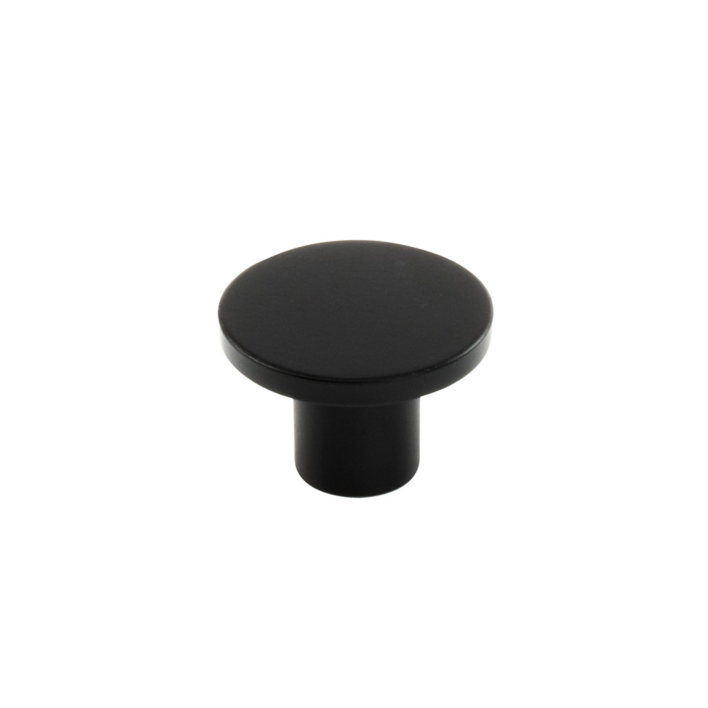 Cabinet Knob Como - Matte Black in the group Products / Cabinet Knobs / Black at BeslagOnline (343276-11)
