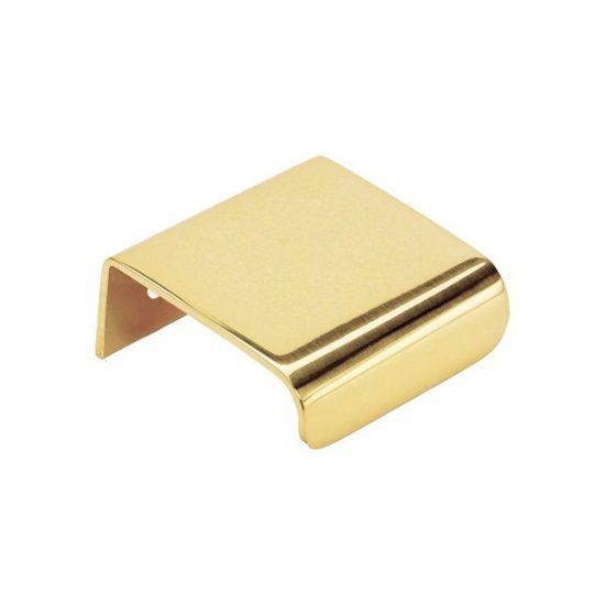 Edge Pull Lip - 40mm - Polished Brass in the group Kitchen Handles / Color/Material / Brass at BeslagOnline (343451-11)