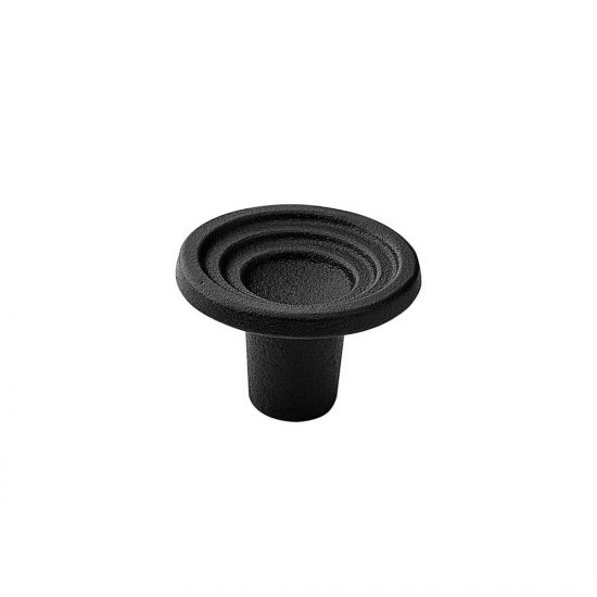 Cabinet Knob Fleur - Cast Iron Black in the group Products / Cabinet Knobs / Black at BeslagOnline (343510-11)