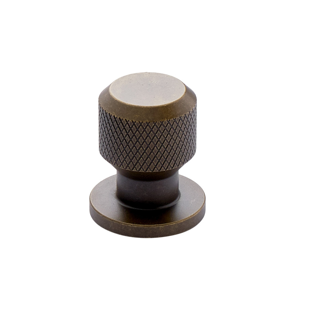 Cabinet Knob Manor Round - Antique Brass in the group Products / Cabinet Knobs / Brass at BeslagOnline (351035-11)