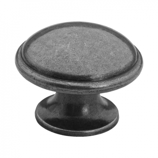 Cabinet Knob 2918 - Tin in the group Cabinet Knobs / Color/Material / Antique at BeslagOnline (3624-11)