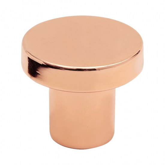 Cabinet Knob 2078 - Polished Copper in the group Products / Cabinet Knobs / Copper at BeslagOnline (368056-11)