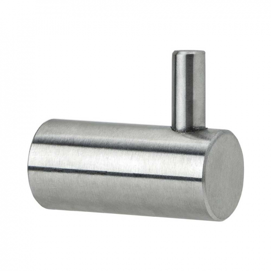 Hook CL 200 - Brushed Stainless Steel in the group Products / Hooks / Stainless at BeslagOnline (602001-21)