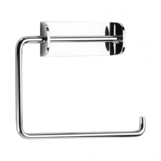 Solid Toilet Roll Holder - Chrome in the group Products / Bathroom Accessories / Toilet Roll Holder at BeslagOnline (620006)