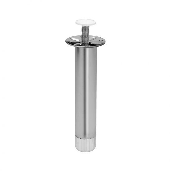 Furniture Legs 180 - Chrome (1-Pack) in the group Products / Furniture Legs at BeslagOnline (STODBEN 180 1PACK)
