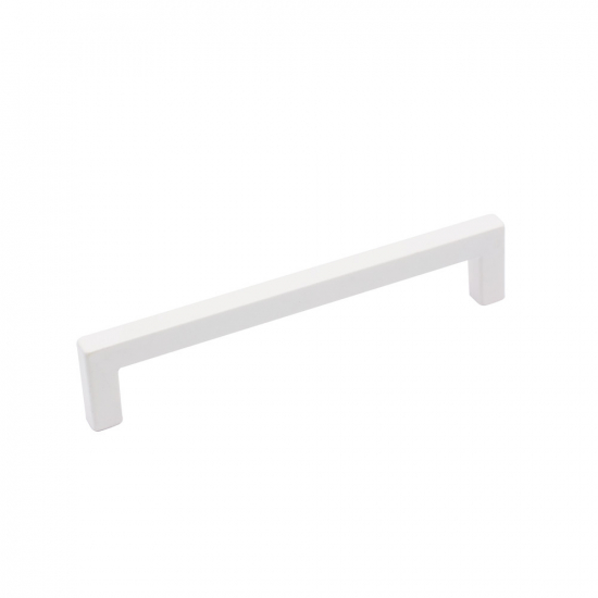 Handle 0143 - Matte White in the group Products / Kitchen Handles / Other Colours at BeslagOnline (handtag-0143-mattvit)