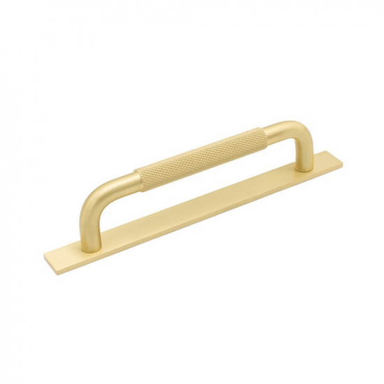 Handle Helix/Back Plate - Brass in the group Kitchen Handles / Color/Material / Brass at BeslagOnline (helix-bricka-massing)