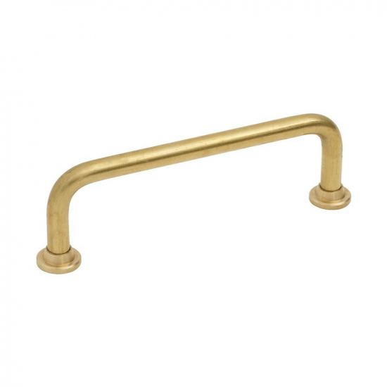 Handle 1353 - Untreated Brass in the group Products / Kitchen Handles / Brass at BeslagOnline (htg-1353-obeh-massing)