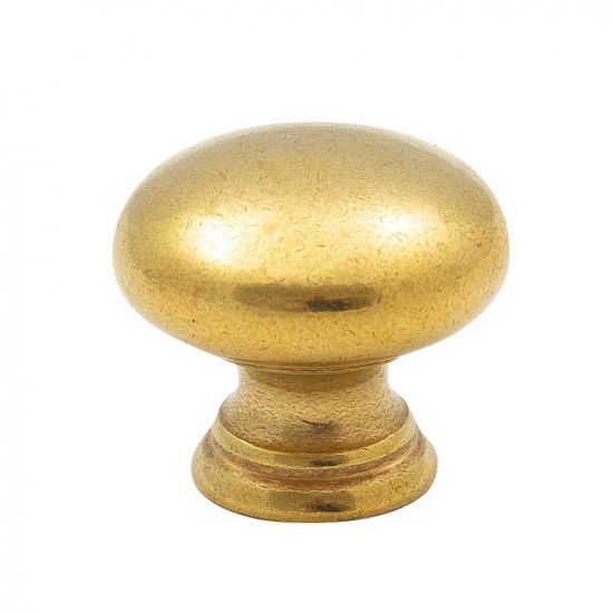 Cabinet Knob 411 - Untreated Brass in the group Products / Cabinet Knobs / Brass at BeslagOnline (knopp-411-obeh.massing)