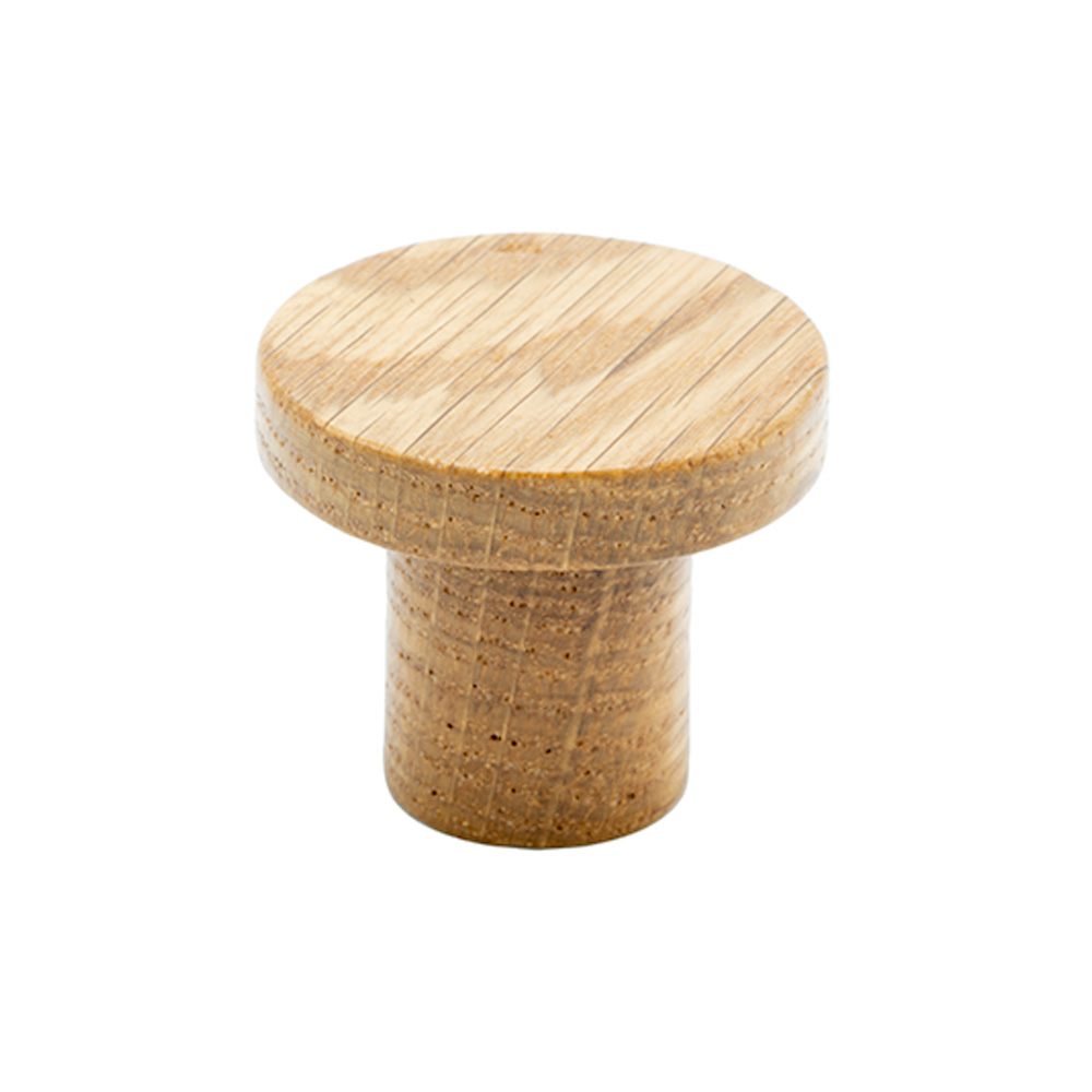 Cabinet Knob Circum - Oak in the group Products / Cabinet Knobs / Wood at BeslagOnline (knopp-circum-ek)