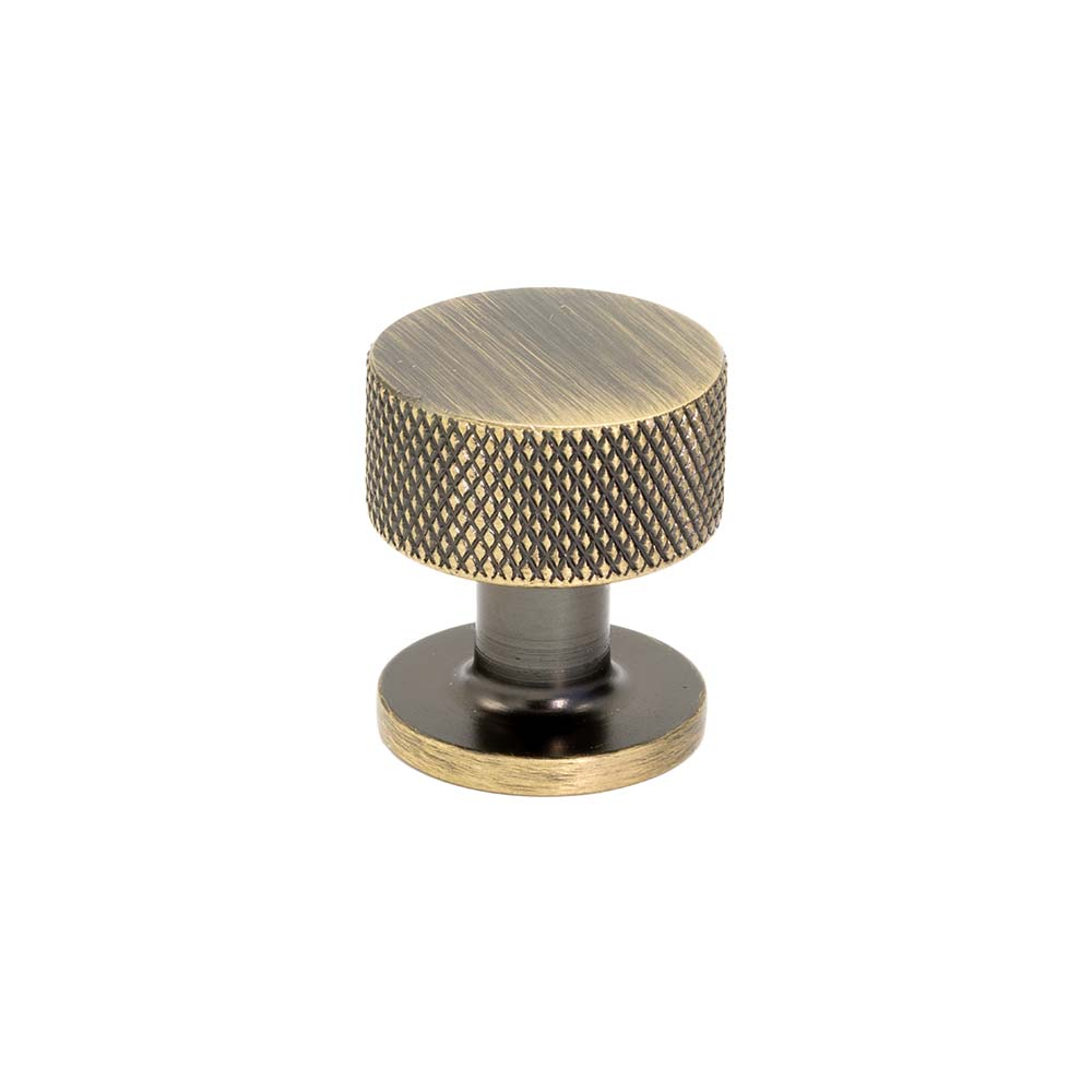 Cabinet Knob Crest - Antique Bronze in the group Cabinet Knobs / Color/Material / Antique at BeslagOnline (knopp-crest-antik)