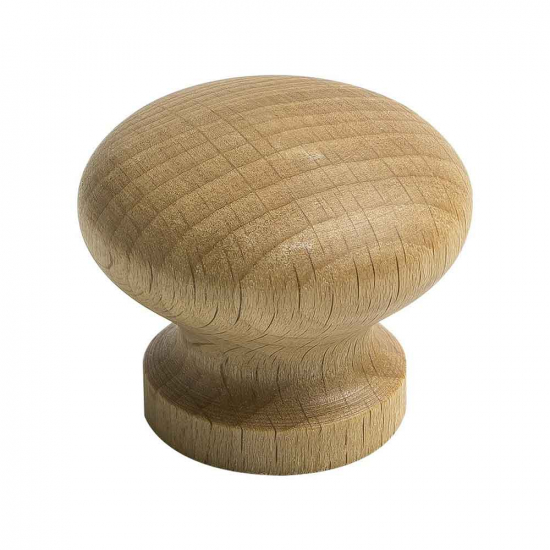 Cabinet Knob Lille - Oak in the group Products / Cabinet Knobs / Wood at BeslagOnline (knopp-lille-ek)