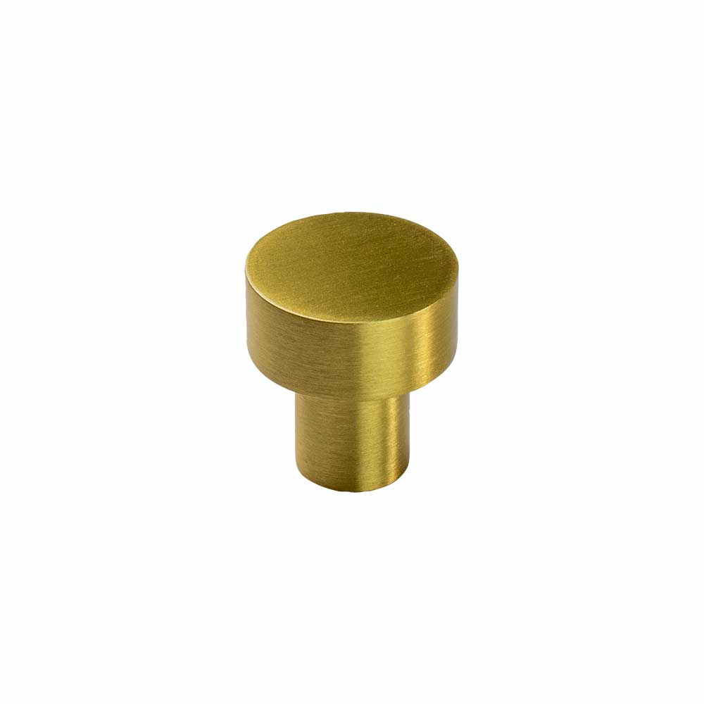Cabinet Knob Mood - Brushed Brass in the group Products / Cabinet Knobs / Brass at BeslagOnline (knopp-mood-b.massing)